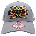 New Era 9Forty Grey 'Melanin' baseball cap