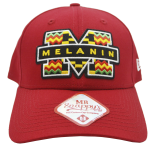 New Era 9Forty 'Melanin' Red baseball cap